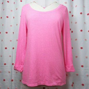 American Eagle Outfitters Favorite Tee Bright Pink